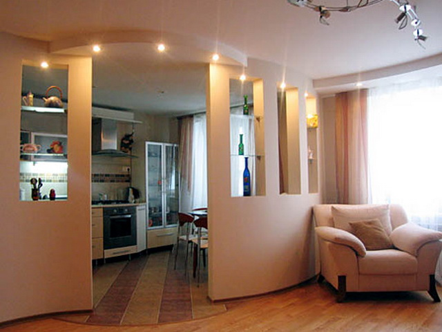 Перепланировка квартир 1-515/9М, варианты